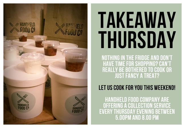 handheld food co - takeaway thursday