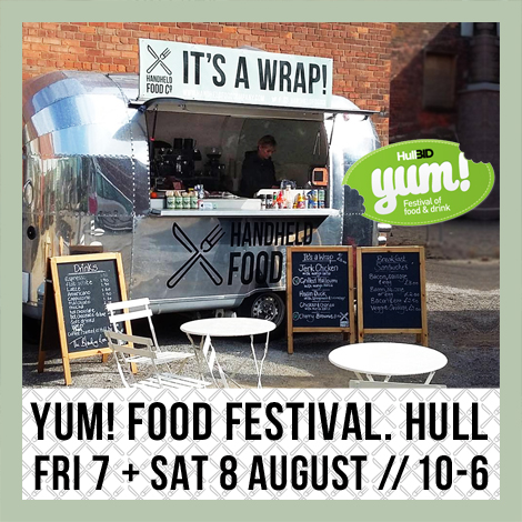 Handheld Food Company at Yum Food Festival
