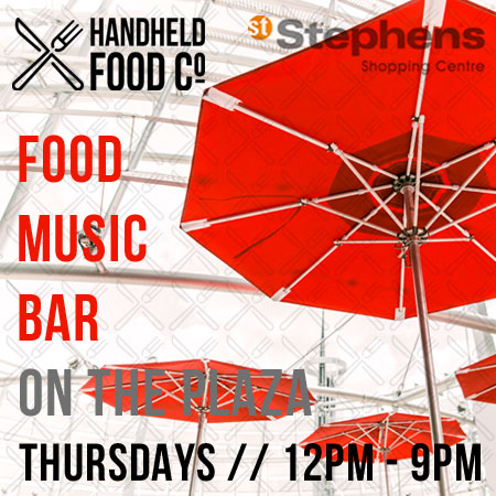 Handheld food Co at St Stephen's Hull
