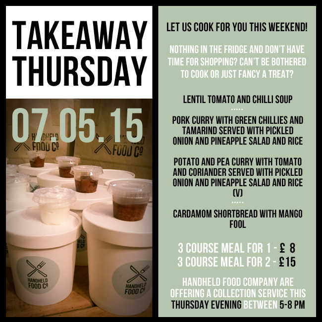 takeaway thursday menu - 07.05.15